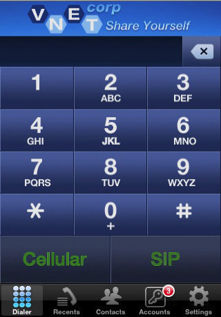 free sip client iphone