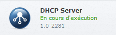 Dhcp server execution