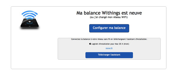 compte withings