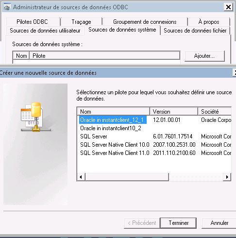 Oracle client 10
