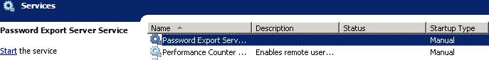 Password export server 07