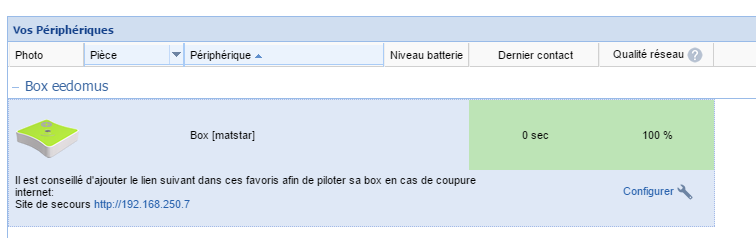 09 - Configuration de la BOX en synthese vocale